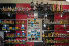 Souvenirs shop in Dubai Royalty Free Stock Image