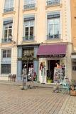 Souvenirs shop in Lyon, France Stock Photography