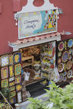 Souvenirs shop in Positano, Italy Stock Images