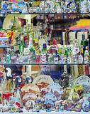 Souvenirs shop - Prague, Czech Republic Royalty Free Stock Photos