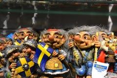 Souvenirs in shop, Stockholm Stock Image