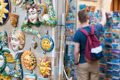 Souvenirs from Sicily Royalty Free Stock Image