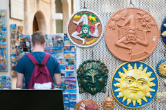 Souvenirs from Sicily Stock Photography