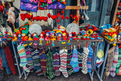 Souvenirs in Sighnaghi Royalty Free Stock Image
