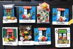 Souvenirs Spain Stock Photo