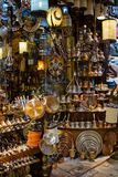 Souvenirs store at Grand bazaar in Istanbul Royalty Free Stock Images