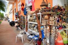 Souvenirs sur Cozumel photographie stock libre de droits
