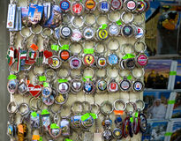 Souvenirs for tourists in San Marino Royalty Free Stock Image