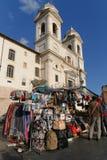 Souvenirs at Trinita dei Monti. Stock Image