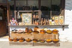 Souvenirs in the Troyan Monastery, Bulgaria Royalty Free Stock Photos