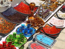 Souvenirs at turist market Stock Image