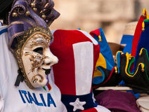 Souvenirs of Venice. Souvenirs on Saint Mark's Square in Venice, Italy Stock Image