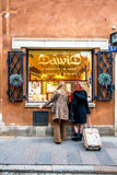 Souvenirs in Warsaw Royalty Free Stock Photography