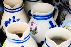 Souvenirs wine jugs Royalty Free Stock Photo