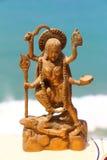 Souvenirstatyett av den indiska guden Royaltyfria Foton