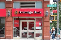 Souveräne Bank Lizenzfreie Stockfotos