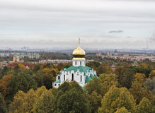 Souveräne ` s Feodorovsky Kathedrale in Pushkin Stockfoto