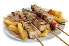 Souvlaki Royalty Free Stock Image