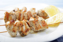 Souvlaki Stock Photography
