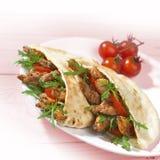 Souvlaki de Grec de poulet Image libre de droits