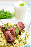 Souvlaki dish Royalty Free Stock Photography