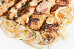Souvlaki dish Stock Photography