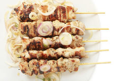 Souvlaki dish Stock Photo