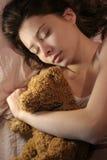 sova för flicka Royaltyfri Bild