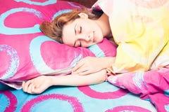 Sova för kvinna Arkivbild