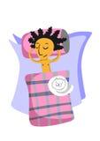 sova för man Royaltyfria Foton