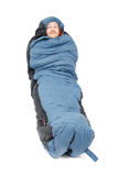 sova för påse Arkivfoto
