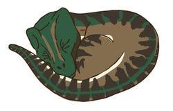 Sova för rovfågeldinosaurie Royaltyfria Foton
