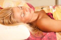 sova för skönhet Royaltyfri Fotografi