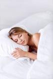 Sova flicka arkivbilder