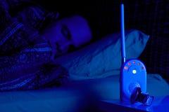 sova för förälder Arkivfoto