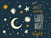 Sova handdarwnuppsättningen av gulliga ungebeståndsdelar och tecknad filmcharac stock illustrationer