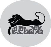 Sova lejonet Royaltyfri Fotografi