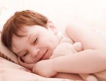 sova nalle för barn royaltyfri fotografi
