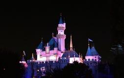 Sova skönhetslotten, Disneyland royaltyfri bild