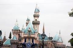 Sova skönhetslotten, Disneyland, Kalifornien Royaltyfria Foton