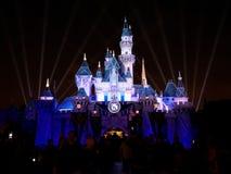 Sova skönhetslotten i Disneyland Royaltyfri Foto