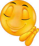 Sova smileyemoticontecknade filmen Royaltyfria Bilder