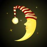 sova tid stock illustrationer