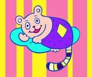 sova vektor för björn Royaltyfria Bilder