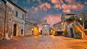 Sovana, Grosseto, Tuscany, Italy Royalty Free Stock Photography