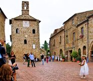 Sovana maremma italy Royalty Free Stock Photos