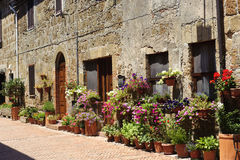 Sovana (Tuscany) Stock Photo