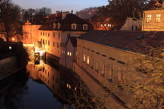 Sova´s Mills in Prague Stock Image