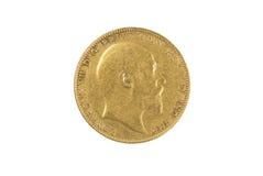 Sovereign do ouro fotos de stock royalty free