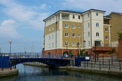 Sovereign Harbour, Eastbourne, England Royalty Free Stock Photo